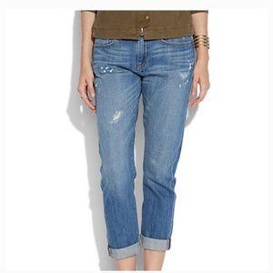 Lucky Brand Distressed Boyfriend Denim Jeans